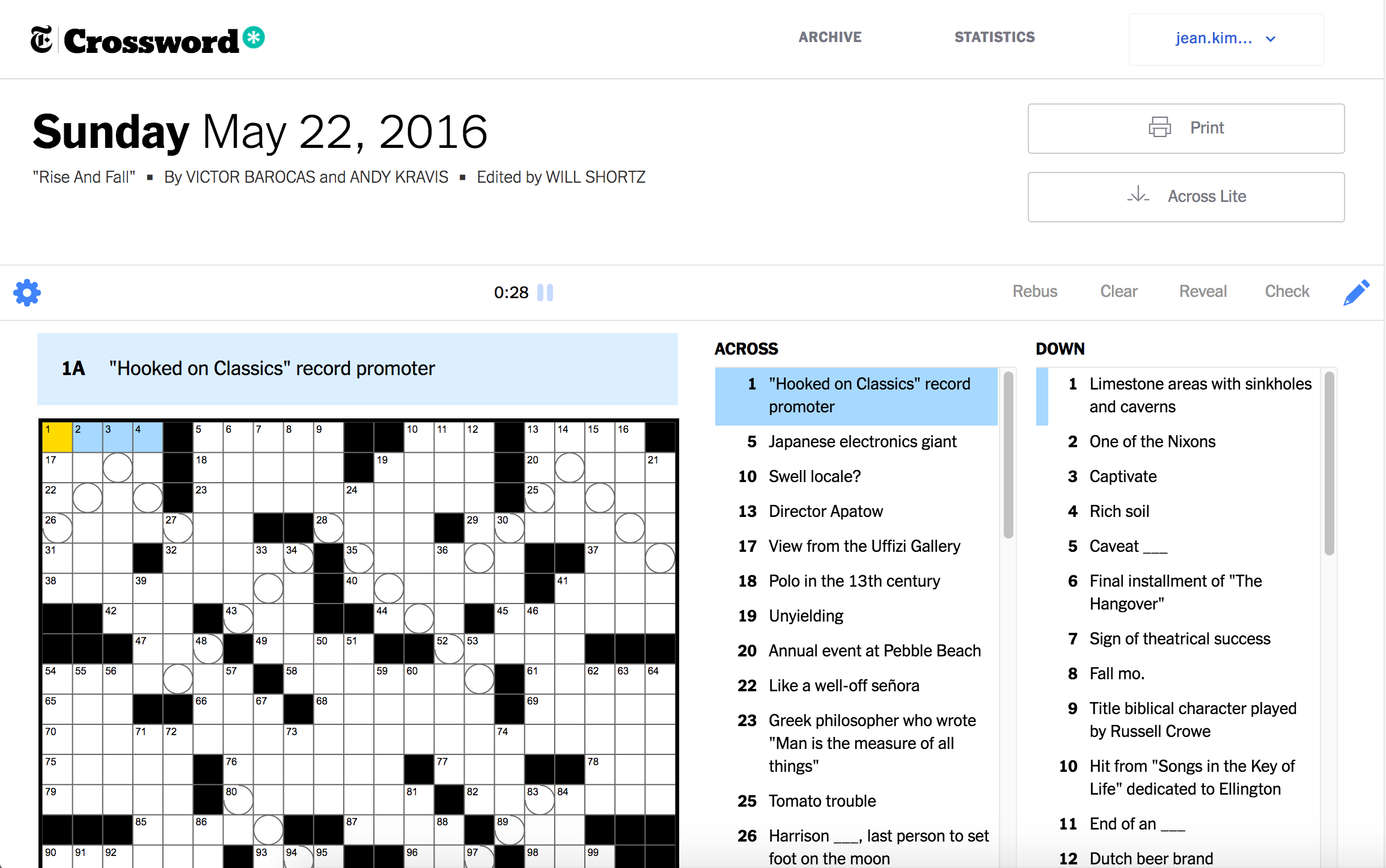 your daily mini crossword